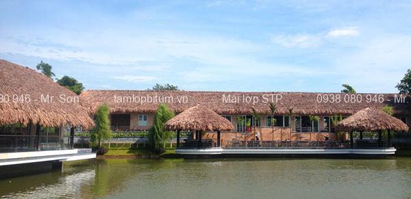 Mái lá dừa cho quán cafe