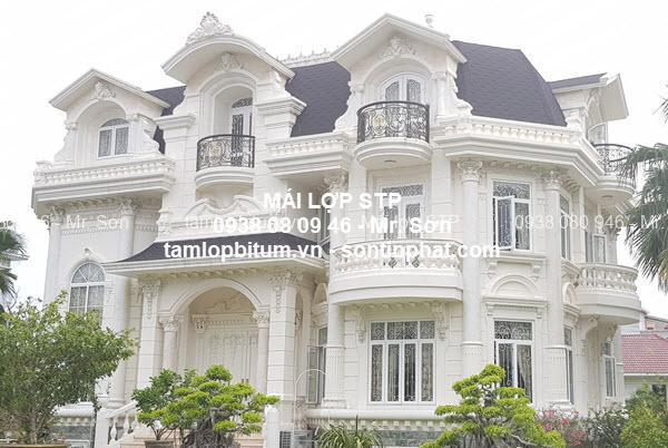 Vật liệu lợp mái nhà