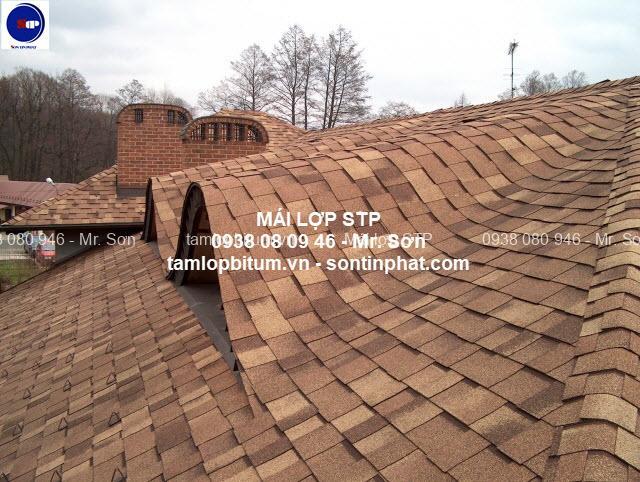 vật liệu lợp mái nhà bitum