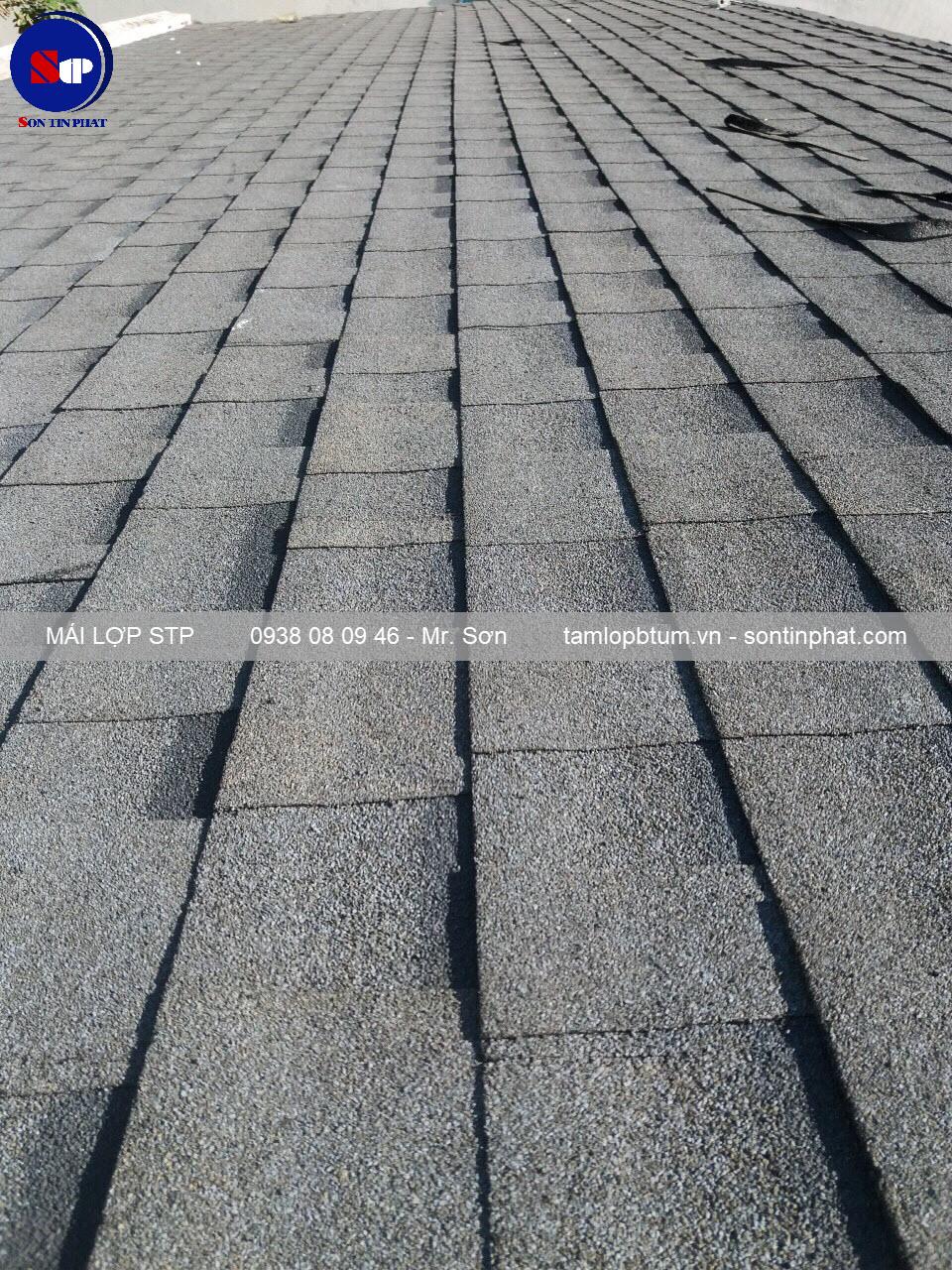 mái lợp STP cho nhà mái thái đẹp