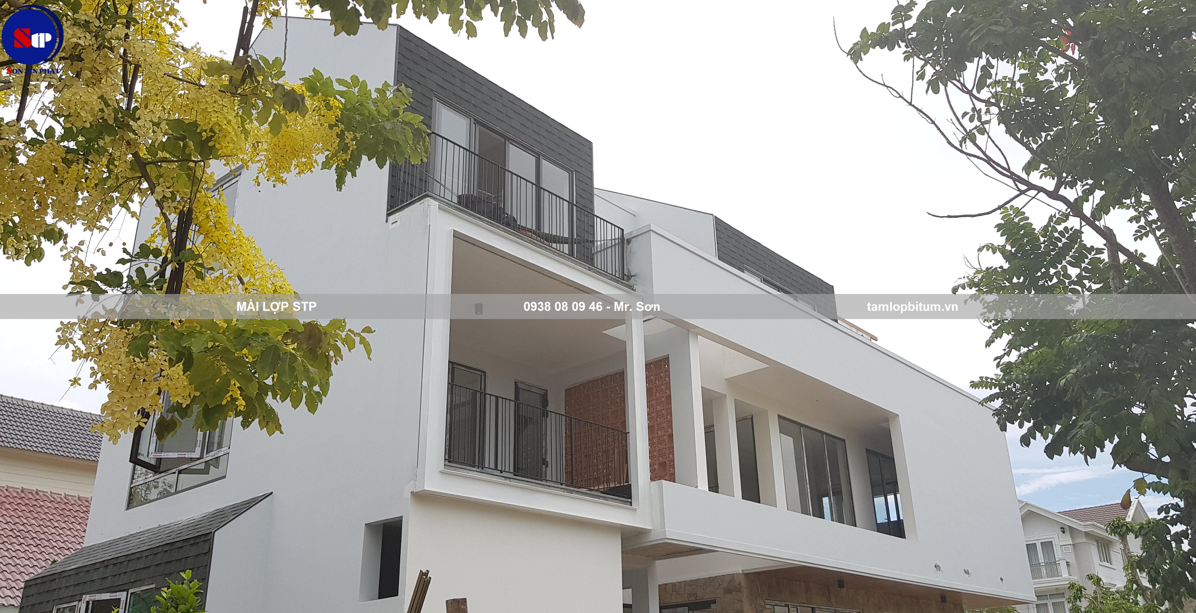 Tấm lợp xếp lớp đa tầng STP cho nhà hiện đại