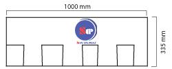 Kích thước tấm lợp xếp lớp STP