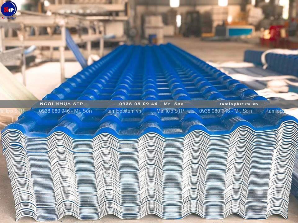 Tấm lợp nhựa sóng ngói STP