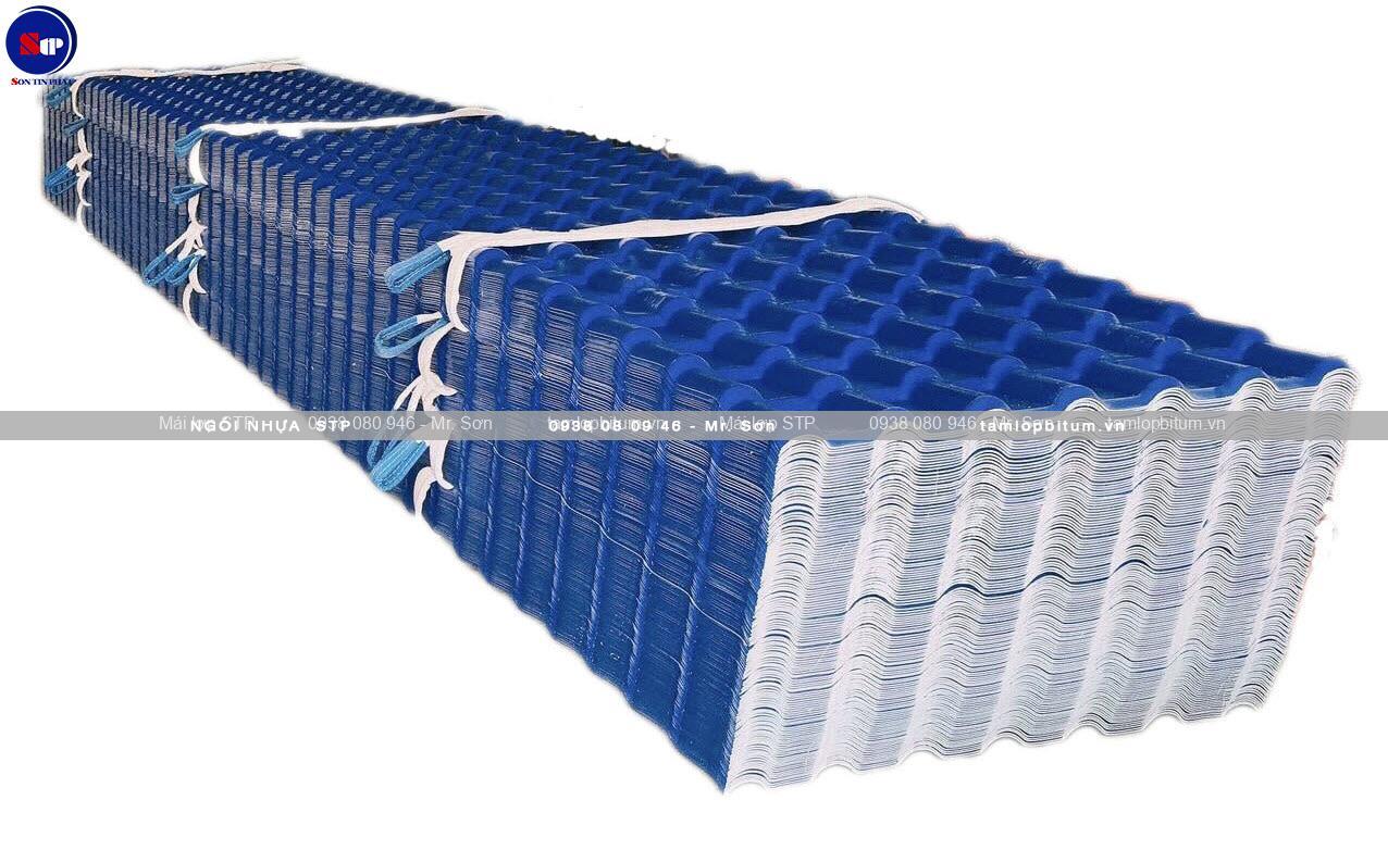 Tấm lợp nhựa sóng ngói STP ASA cao cấp
